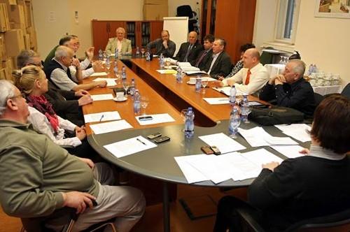 A Magánbiztonsági Ágazati Párbeszéd Bizottság ülése, 2012. március 29. (fotó: Biztonságpiac.hu)