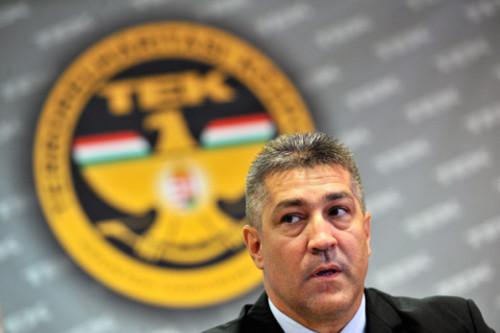 Hajdu János, a Terrorelhárítási Központ főigazgatója (fotó: MTI)