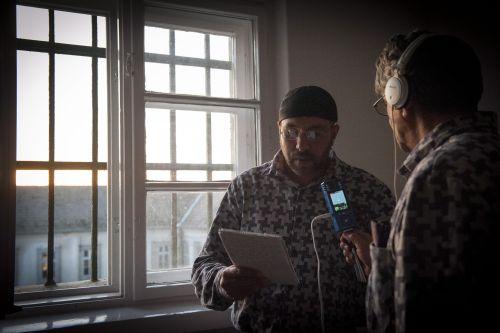 Megszólalt a Rács FM a váci börtönben 2014. december 4-én (fotó: MTI)