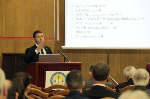 Christián László, NKE RTK tanszékvezető (fotó: Biztonságpiac.hu/Dömötör Csaba)