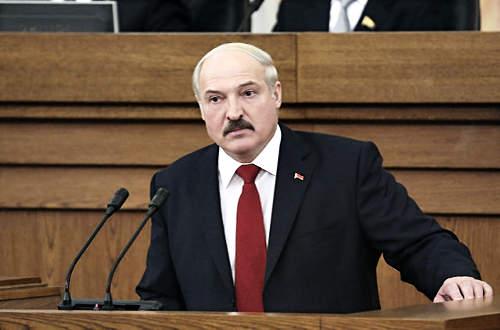 Aljakszandr Lukasenka fehérorosz elnök
