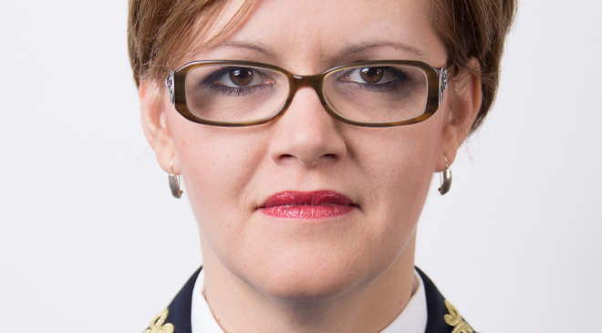Szabó Szilvia, a Csongrád Megyei Rendőr-főkapitányság szóvivője