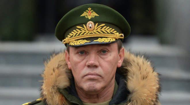 Valerij Geraszimov vezérkari főnök