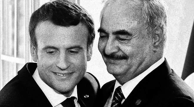 Nagy a barátság: Macron és Haftar