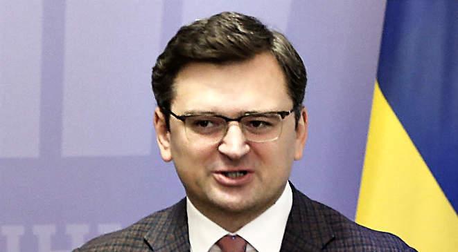 Dmitro Kuleba ukrán külügyminiszter