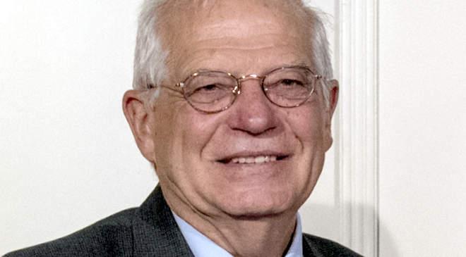 Josep Borrell, az Európai Unió (EU) kül- és biztonságpolitikai főképviselője
