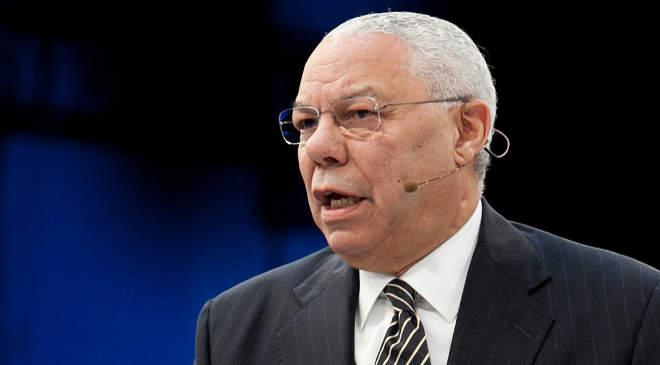 Colin Powell volt külügyminiszter