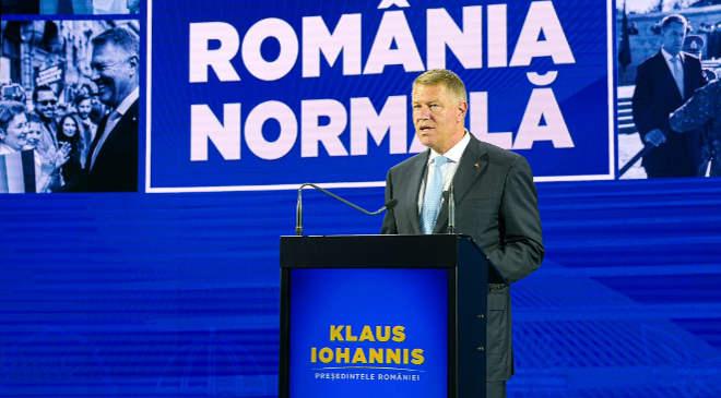Klaus Iohannis, Románia államfője
