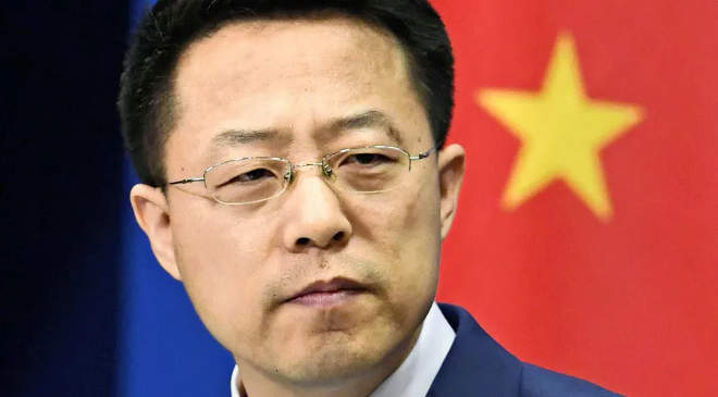 Csao Li-csien, a kínai külügyminisztérium szóvivője
