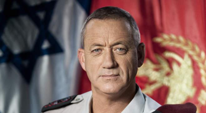 Beni Ganz védelmi miniszter