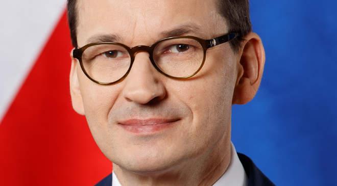 Mateusz Morawiecki lengyel kormányfő