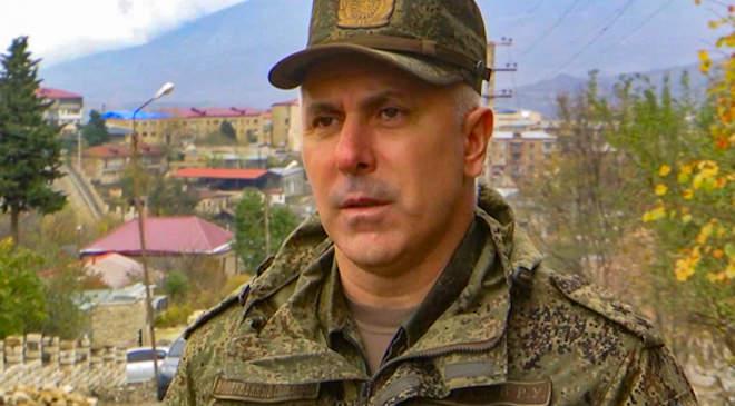 Rusztam Muradov altábornagy, a kontingens parancsnoka
