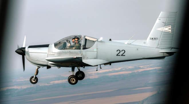 Zlin kiképző-, futár- és felderítőrepülőgép