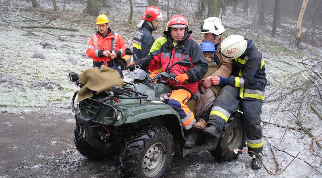 önkéntes mentők