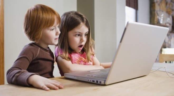 gyerek, internet