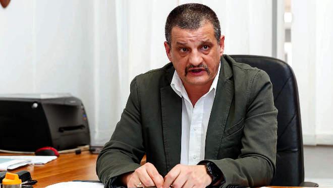 Boross Zoltán, a Készenléti Rendőrség Nemzeti Nyomozó Iroda (KR NNI) nemzetközi bűnözés elleni főosztályvezetője
