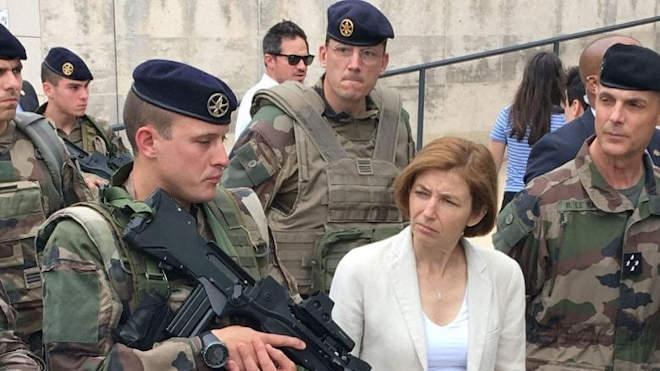 Florence Parly francia védelmi miniszter