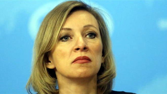 Marija Zaharova külügyi szóvivő