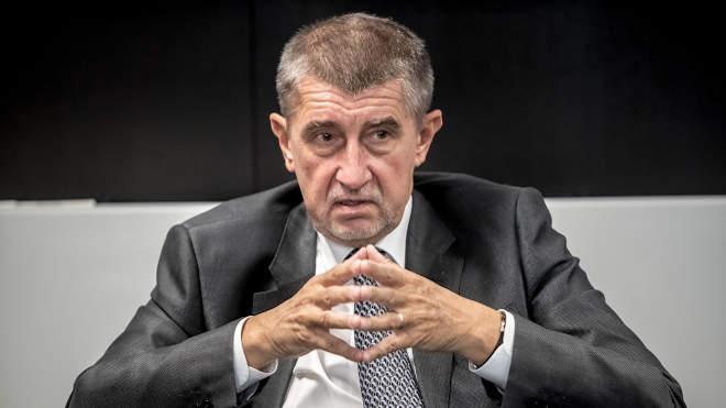 Andrej Babis kormányfő