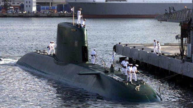 Izrael, tengeralattjáró