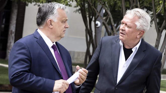 Orbán Viktor és Armin Pappergert