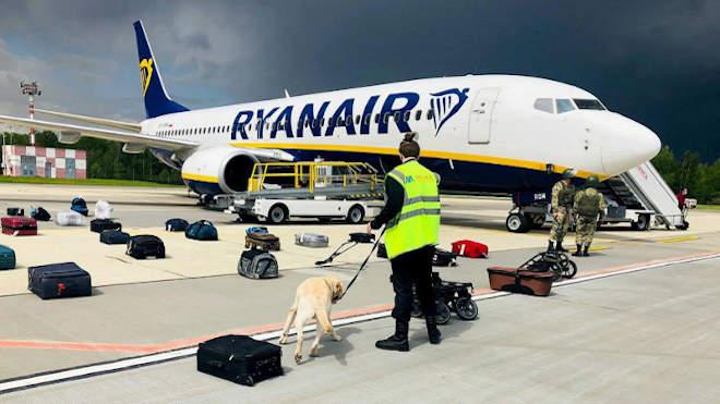 Ryanair, gépeltérítés