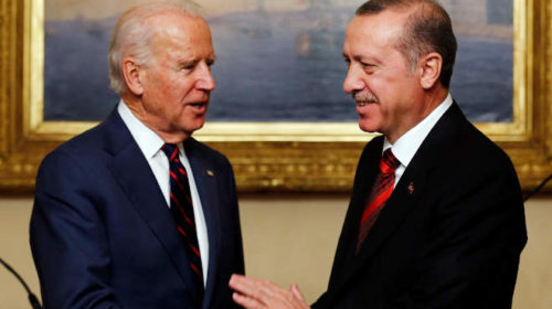 Biden és Erdogan