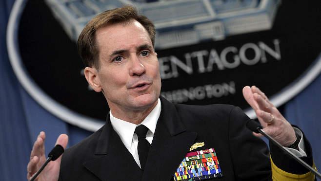 John Kirby volt ellentengernagy, a Pentagon szóvivője