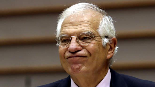 Josep Borrell, az Európai Unió külügyi és biztonságpolitikai főképviselője