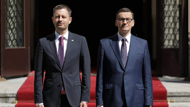 Morawiecki és Heger