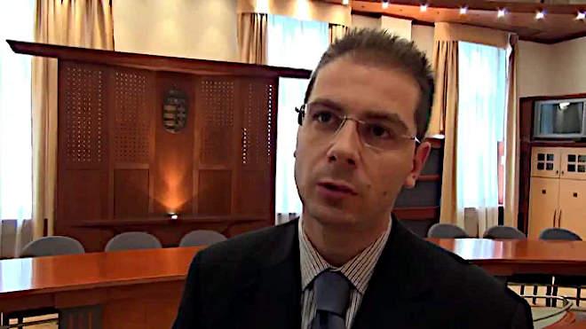 Tóth András Szombathelyi Törvényszék szóvivője