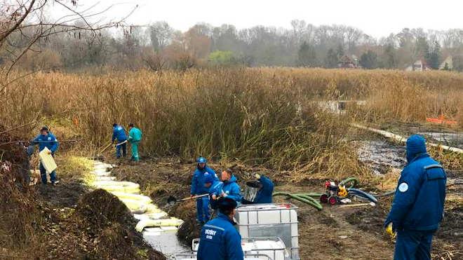 szigetszentmiklósi olajszennyezés