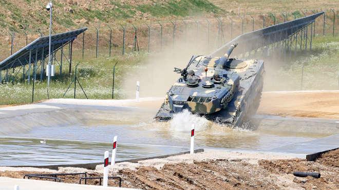 ZalaZONE Rheinmetall Off-road Tesztpálya