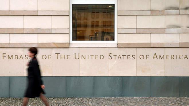 A berlini USA nagykövetség