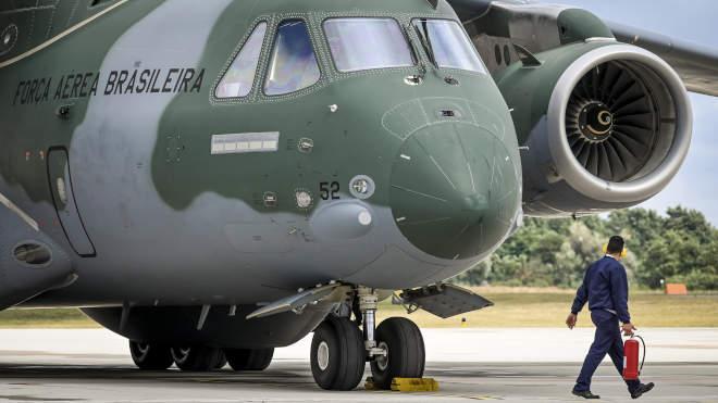 KC 390-es katonai szállító repülőgép