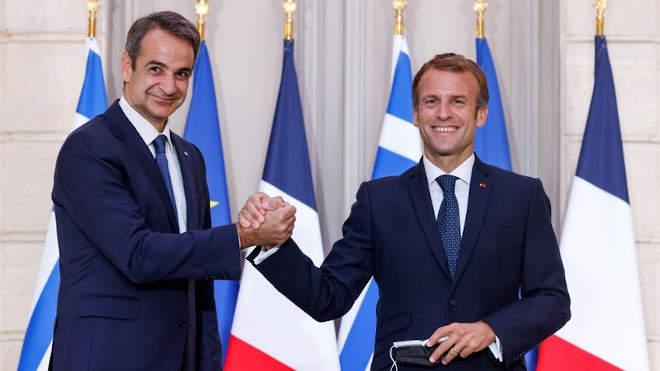 Micotakisz és Macron