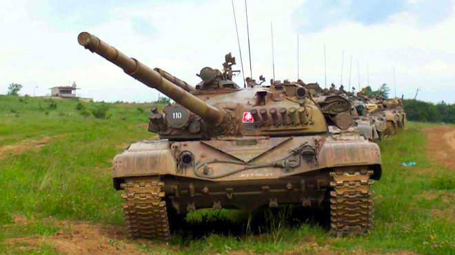 Szlovák T72-es tank