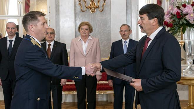 Christián László rendőr dandártábornok, a Nemzeti Közszolgálati Egyetem oktatási rektorhelyettese