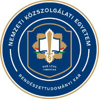 Nemzeti Közszolgálati Egyetem logo