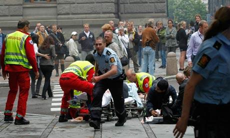 Oslo bombarobbanás