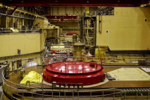 Paksi Atomerőmű reaktortér