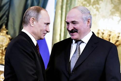 Putyin és Lukasenka