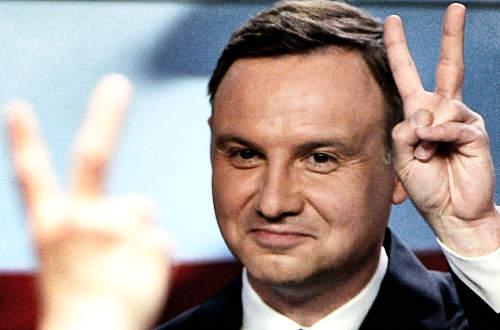 Andrzej Duda lengyel elnök