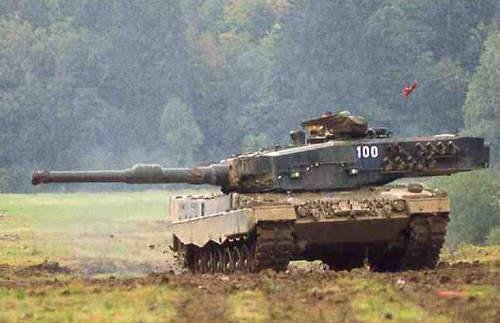 Leopard-2-tank