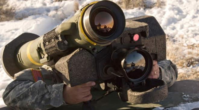 Javelin páncéltörő rakéta