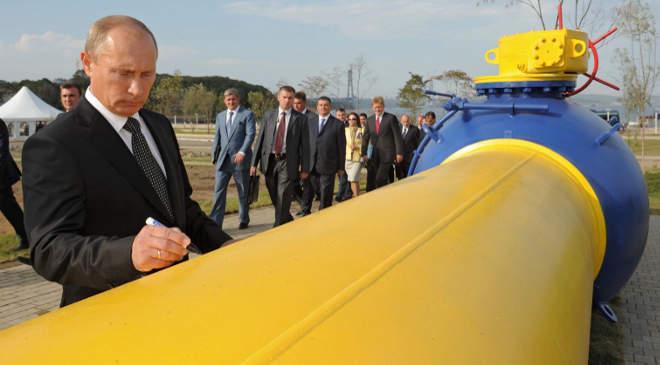 Putyin gázvezeték