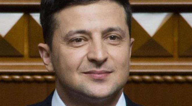 Volodimir Zelenszkij ukrán elnök