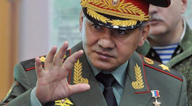 Szergej Sojgu orosz védelmi miniszter