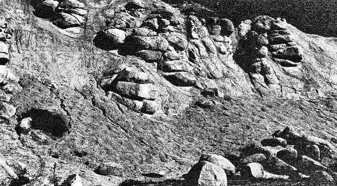 Repedezett kőzet