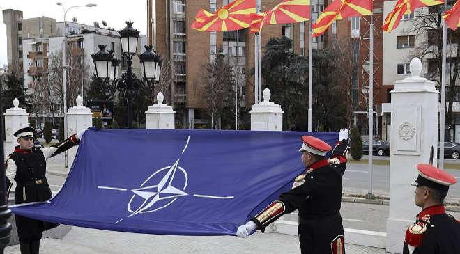 Észak-Macedónia NATO
